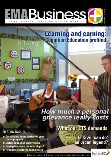 Learning and earning: Cognition Education profiled Is Kiwi ... - EMA