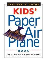 World Record Paper Airplane Book Teachers' Guide - Workman ...