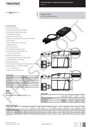 PCI B521 ST twin - Tridonic