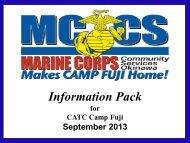 September 2013 - MCCS Fuji