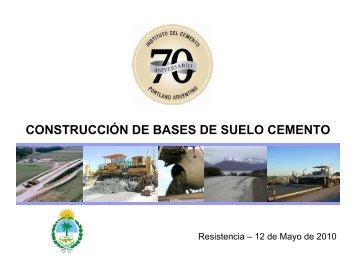 base de suelo cemento - ICPA