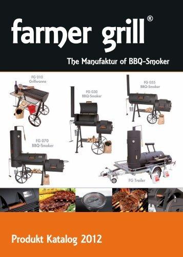 Produkt Katalog 2012 - Farmer Grill