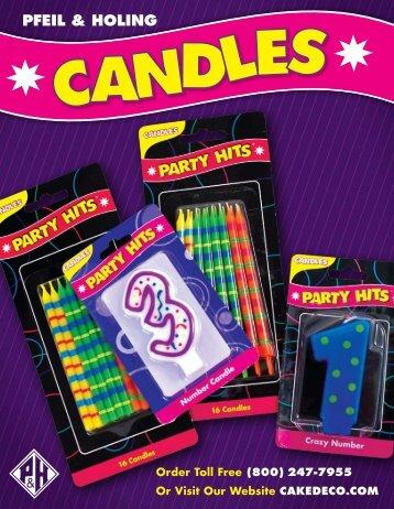 Candles - Pfeil & Holing