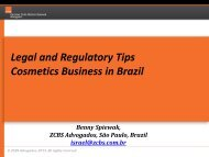 Legal and Regulatory Tips Cosmetics Business in Brazil