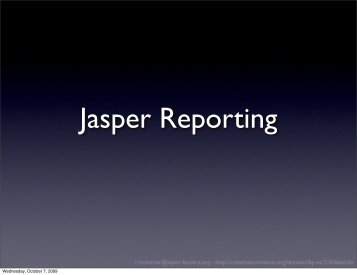 Jasper - webdevFulda