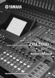 DM2000 Version 2—Owner's Manual