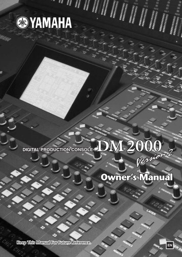DM2000 Version 2—Owner's Manual