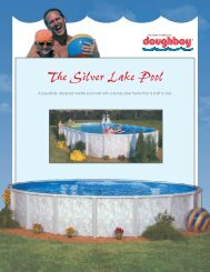 The Silver Lake Pool - Doughboy Pools