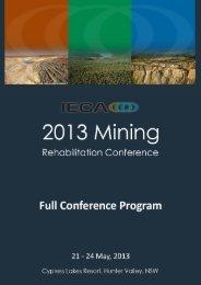 Preliminary Conference Program - GEMS Event Management