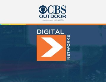 Digital Billboard Advertising - CBS Outdoor