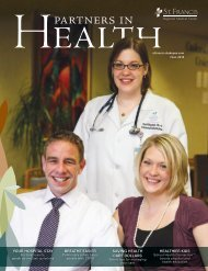 Partners in Health Fall 2013 - St. Francis Regional Medical Center