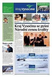 Prosinec 2012 - Extranet - Kraj Vysočina