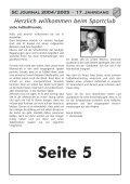 Sportheft des SC Hofstetten - +++ Sport Club Kappel am Rhein +++ - Seite 2