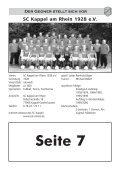 Sportheft des SC Hofstetten - +++ Sport Club Kappel am Rhein +++ - Seite 3