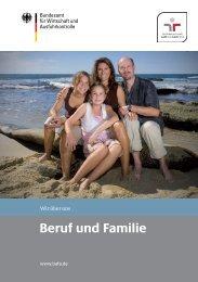 Beruf und Familie - Bafa