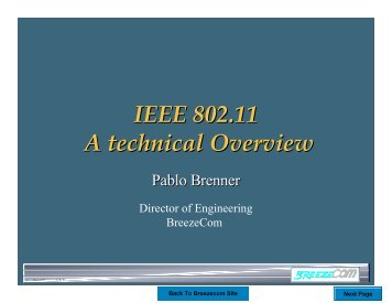 IEEE 802.11 A technical Overview