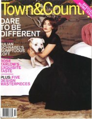 Town & Country - Rose Tarlow Melrose House