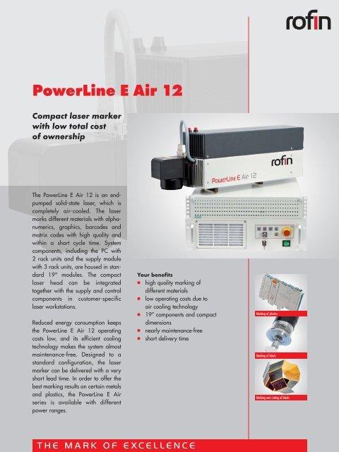 RS-129 PowerLine E 12 Air engl - Rofin