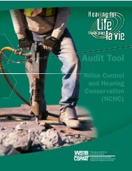 Noise Control & Hearing Conservation Program Audit Tool - wsib