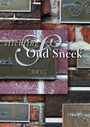 Sstichting - Stichting Oud Sneek