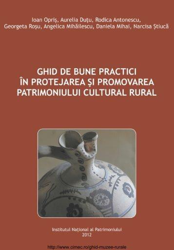 ghid de bune practici în protejarea şi promovarea ... - cIMeC