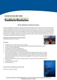 Winter-Bilderbuch Lappland & Lofoten