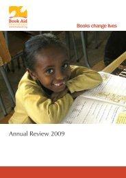 Annual Review 2009 - Book Aid International