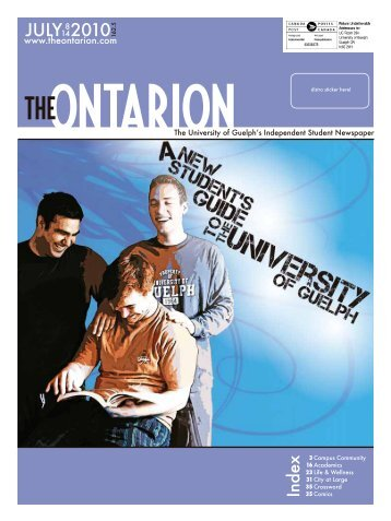 CULY 2010 - The Ontarion