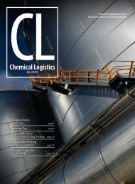 Chemical Logistics - Inbound Logistics