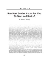 How Does Gender Matter for Who We Want and ... - Sage Publications