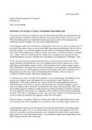 Rapport angående ulykke ved Robru desember 2005 - Nei til salt