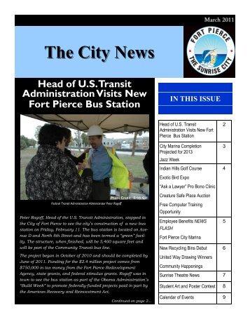 City News - City of Fort Pierce