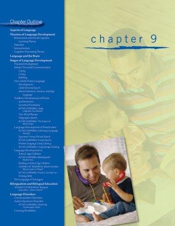 Chapter 9. Language Development - Sage Publications