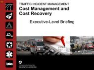 Executive-Level Briefing - FHWA Operations