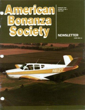 February 1994 - American Bonanza Society