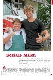 Artikel hier lesen - Die faire Milch