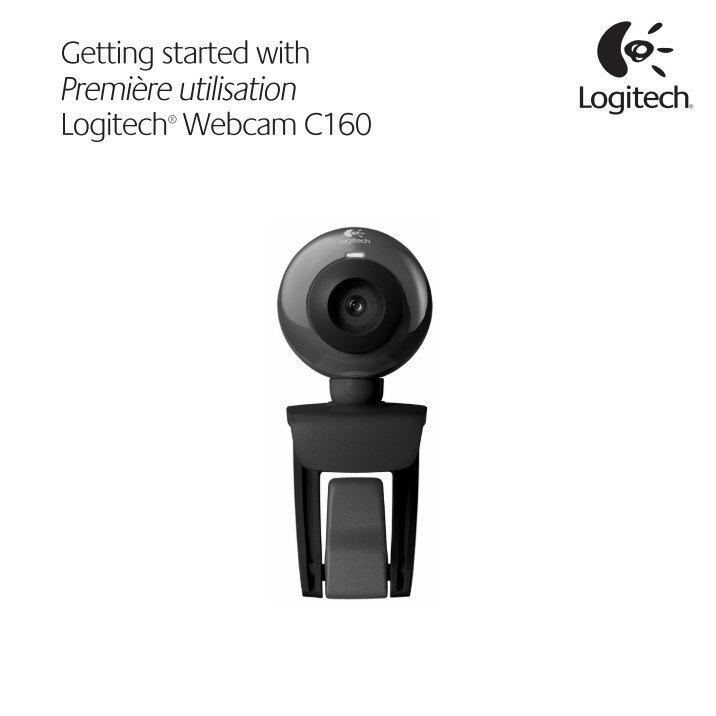Скачать драйвера веб камера logitech webcam c160