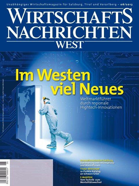 Ausgabe 06/2013 Wirtschaftsnachrichten West