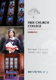 Prospectus 2013.pdf - Free Church College