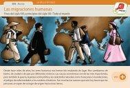 Las migraciones humanas - Manosanta