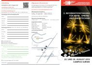 Informationstagung 2013 - Sprengverband Schweiz SVS