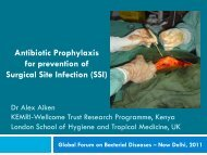 Antibiotic Prophylaxis for prevention of Surgical Site Infection (SSI)