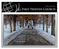 Life Groups - First Friends Church