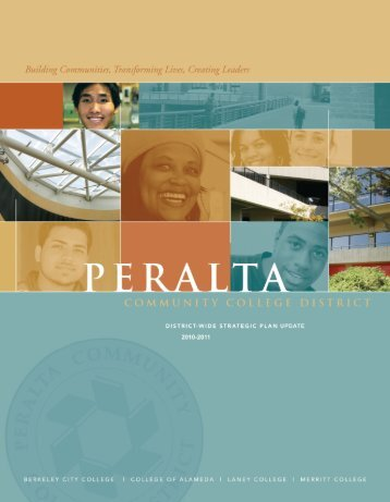 District-wide-Strategic-Plan-Update-2010-2011 - Peralta Colleges