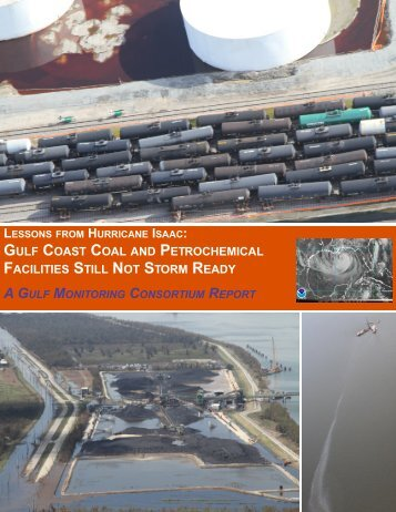 Gulf Coast Coal and Petrochemical Facilities Still Not Storm Ready