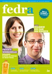 Download het magazine - Fedra - Belgium.be