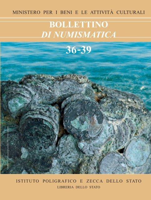 a302171330 Bollettino di Numismatica n. 36-39 - Portale Numismatico dello Stato