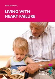 H5 Living with HF - Chest Heart & Stroke Scotland
