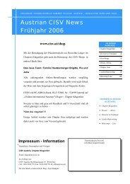 Ausgabe 1/2006 - CISV