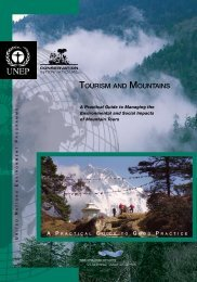 TOURISM AND MOUNTAINS - DTIE